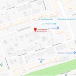 Гарнизонный военный суд на карте