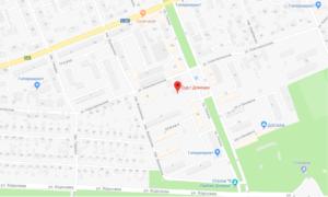 Донецкий суд карта