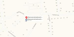 Мартыновский суд карта