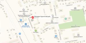 Матвеево-Курганский суд на карте