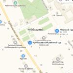 Матвеево-Курганский суд на карте Участок 3