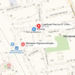 Матвеево-Курганский суд на карте участки