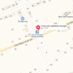 Морозовский суд на карте Участок 3