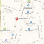 Песчанокопский суд на карте Участок 1