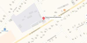 Ремонтненский суд на карте