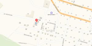 Шолоховский суд на карте