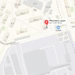 Таганрогский суд на карте Участок 1