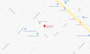 Зерноградский суд ст Кагальницкая на карте