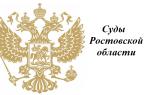 Суды Ростовский области